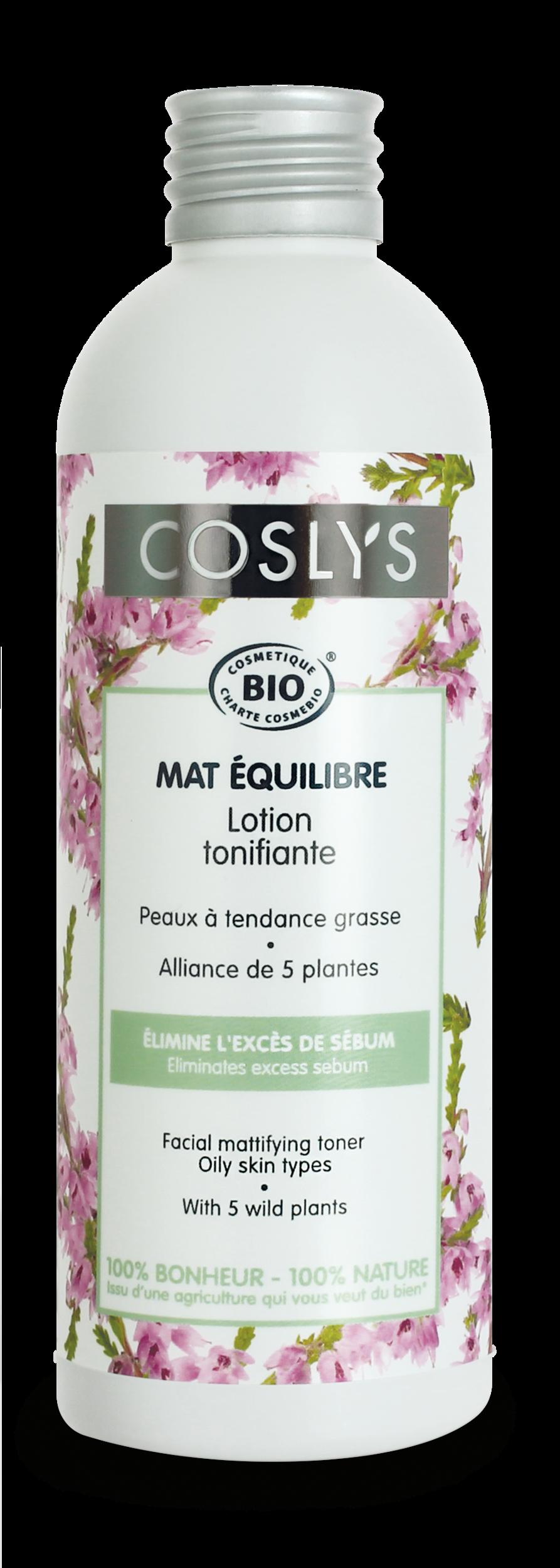 Coslys-Mat équilibre-Lotion équilibrante 200ml