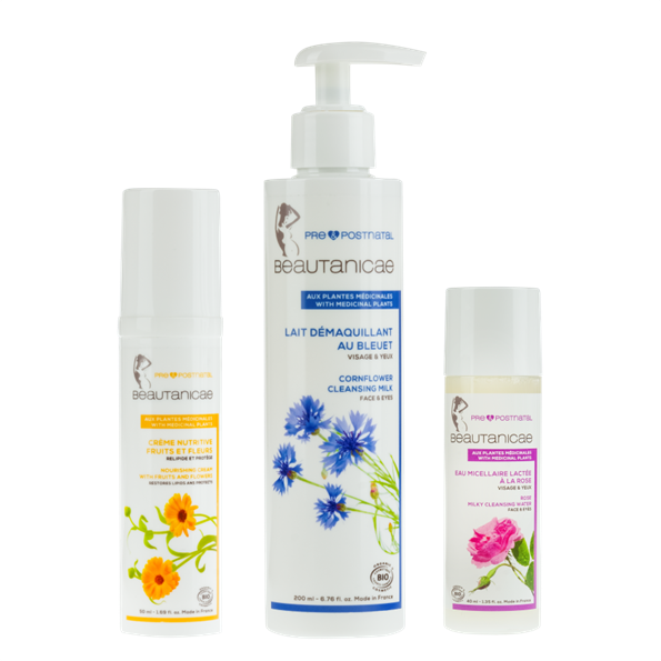 Trio hydratation visage - Beautanicae