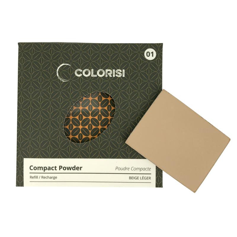 Colorisi - Recharge Poudre compacte Beige léger 01