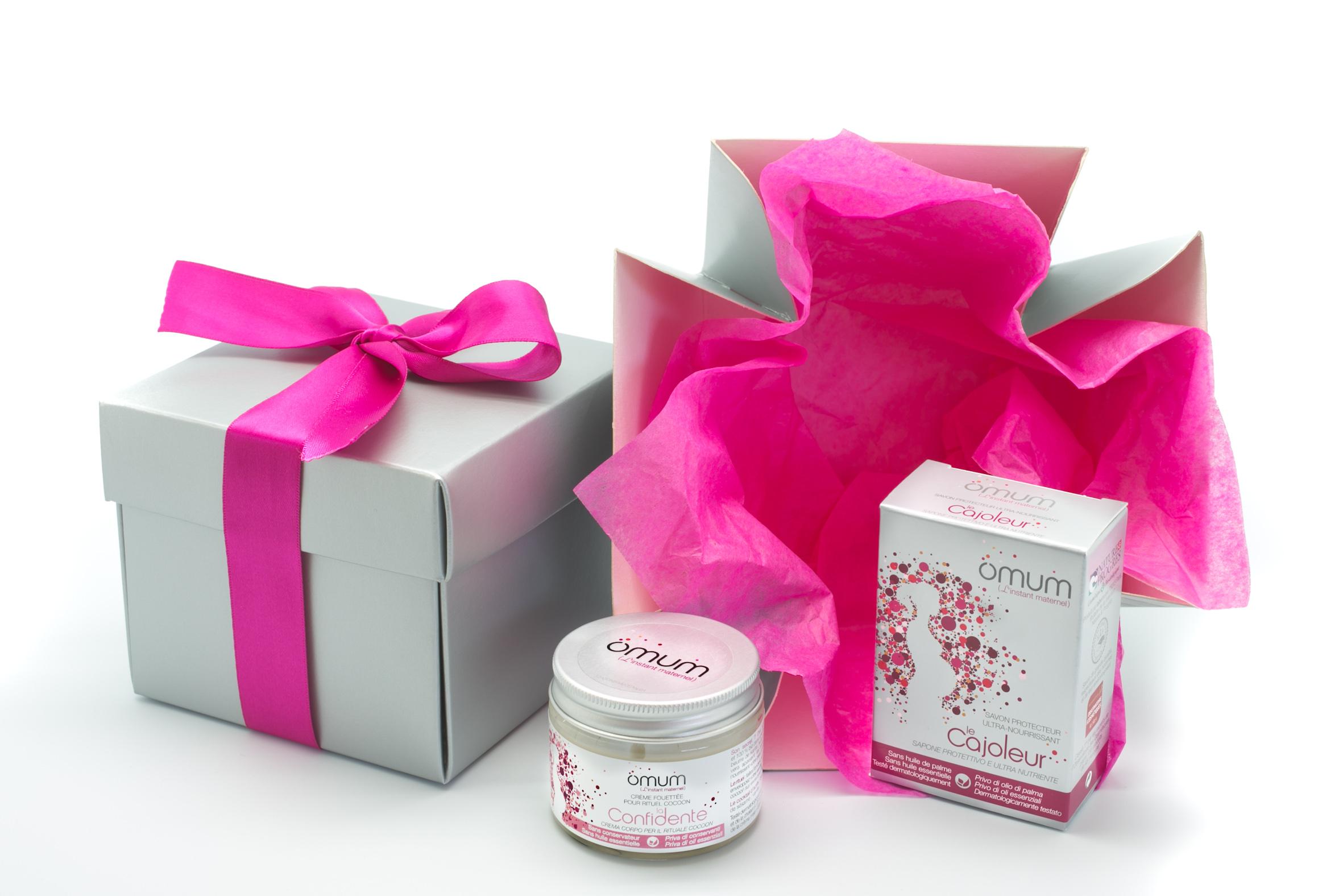 Doux Good - Omum - Instant Calin a offrir aux futures mamans avec 2 soins