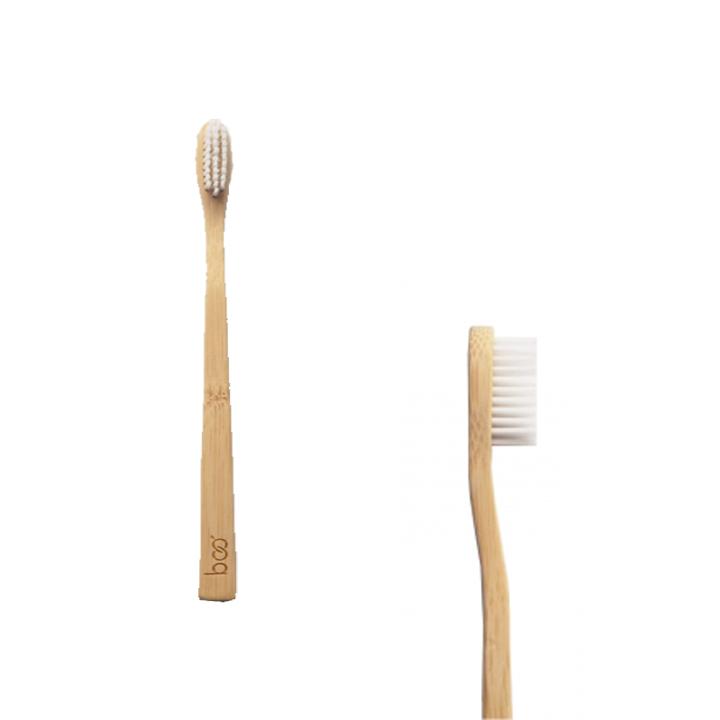 Boo - Brosse à dents enfant - ultrasouple -blanche