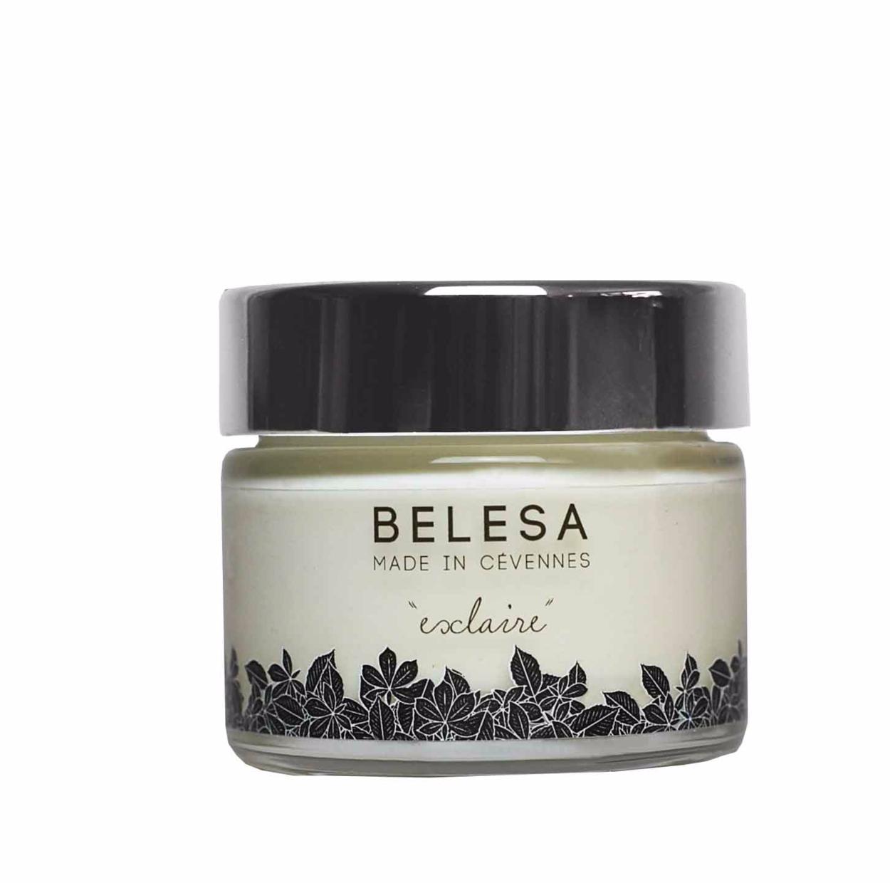 BELESA - Crème hydratante visage - Esclaire