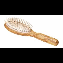 Redecker - Brosse à cheveux picots en bois d'olivier