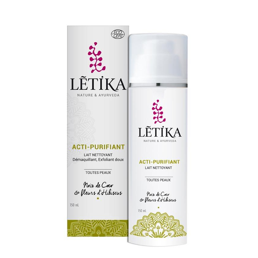 Letika-ACTI PURIFIANT-lait démaquillant-exfoliant doux