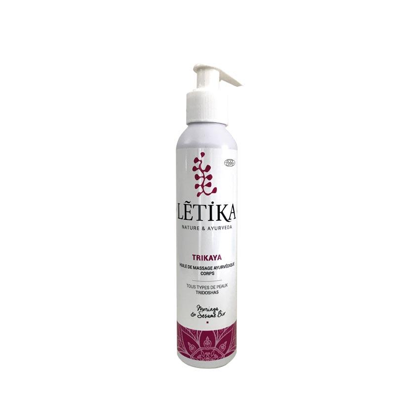 Letika-Huile-TRIKAYA-huile de soin et massage