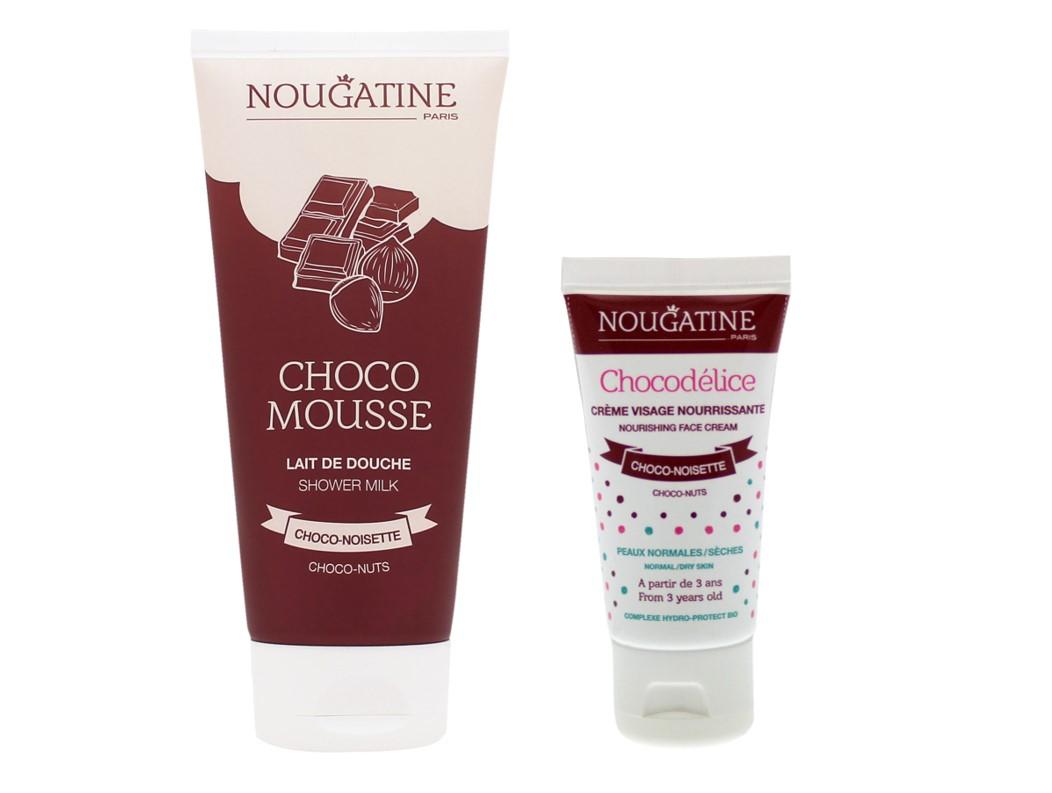 Duo 100% chocolat - Chocomousse et Chocodélice - Nougatine