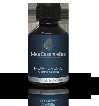 Sevessence-Eau florale biologique de menthe-verte