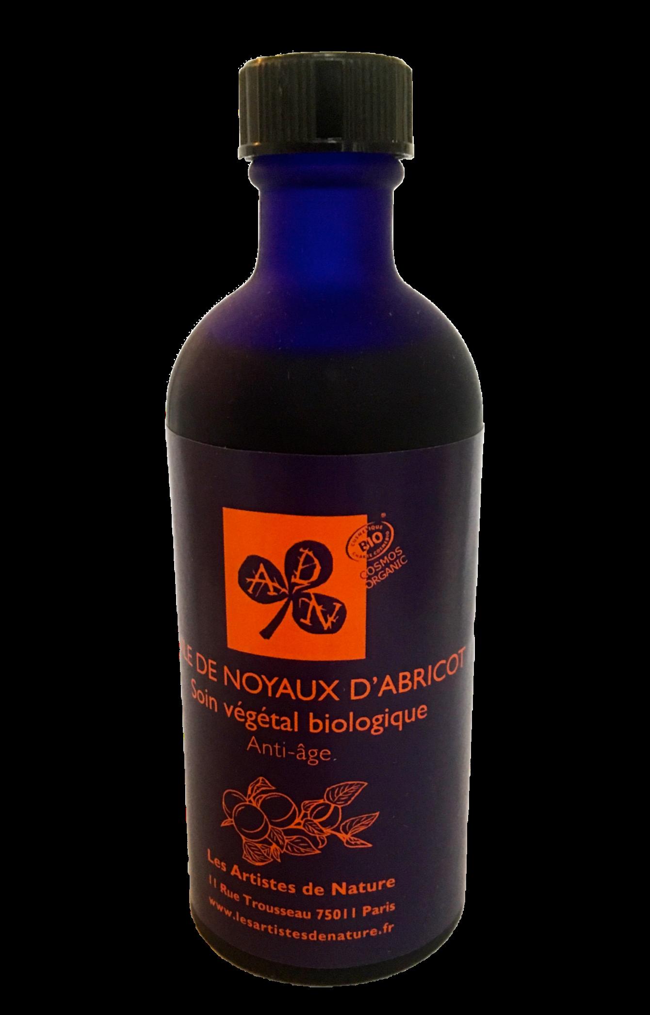 LES ARTISTES DE NATURE- huile végétale bilogique de noyaux d'abricot