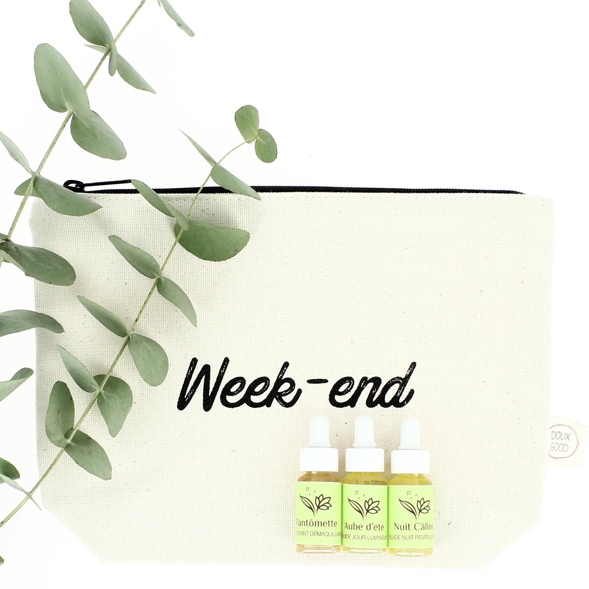 Trousse Week-end - Exclusivité Doux Good - soins visage Douces Angevines
