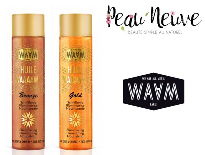Duo d'huiles WAAAAM Gold et Bronze