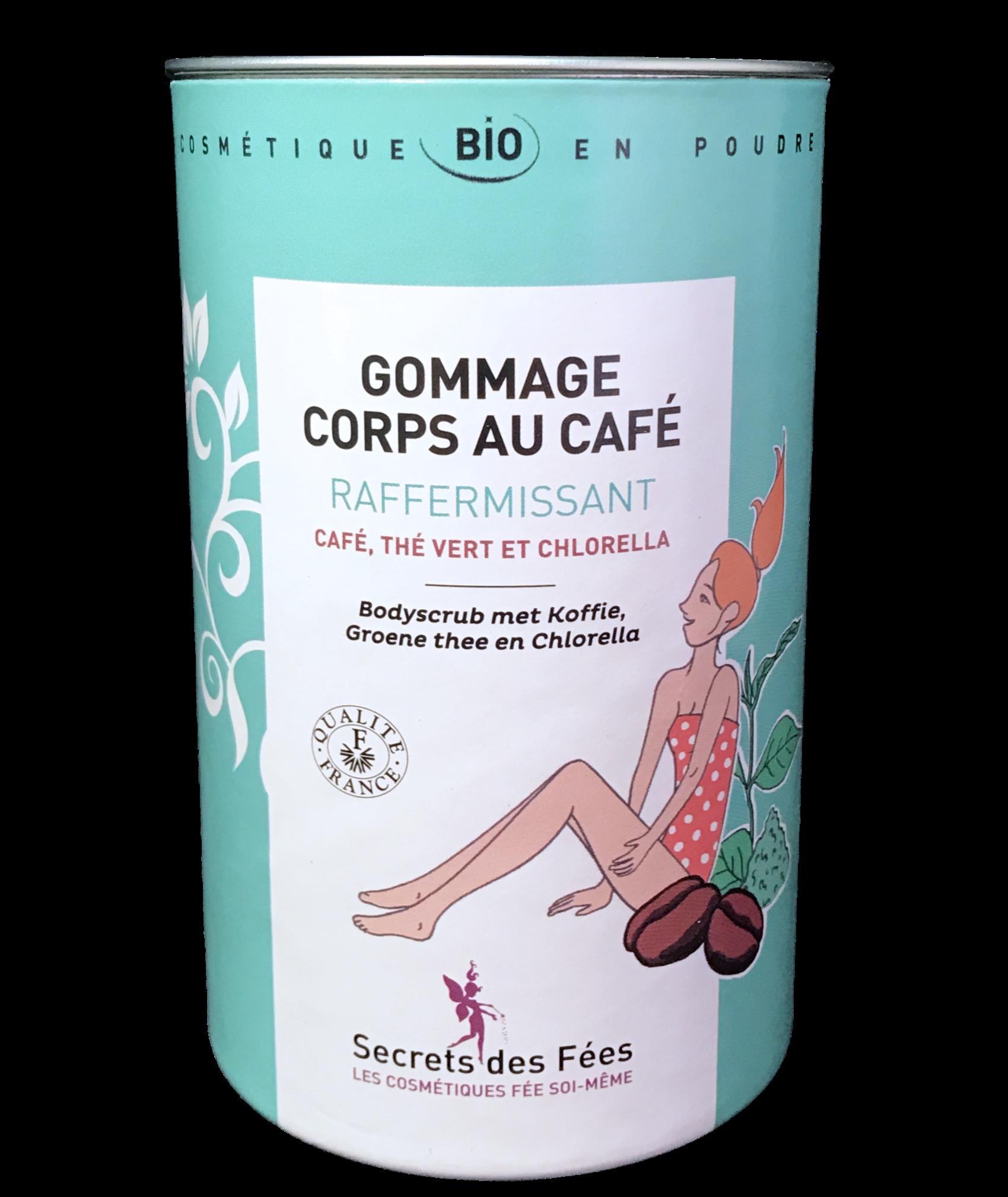 Secrets des Fées - gommage corps raffermissant café