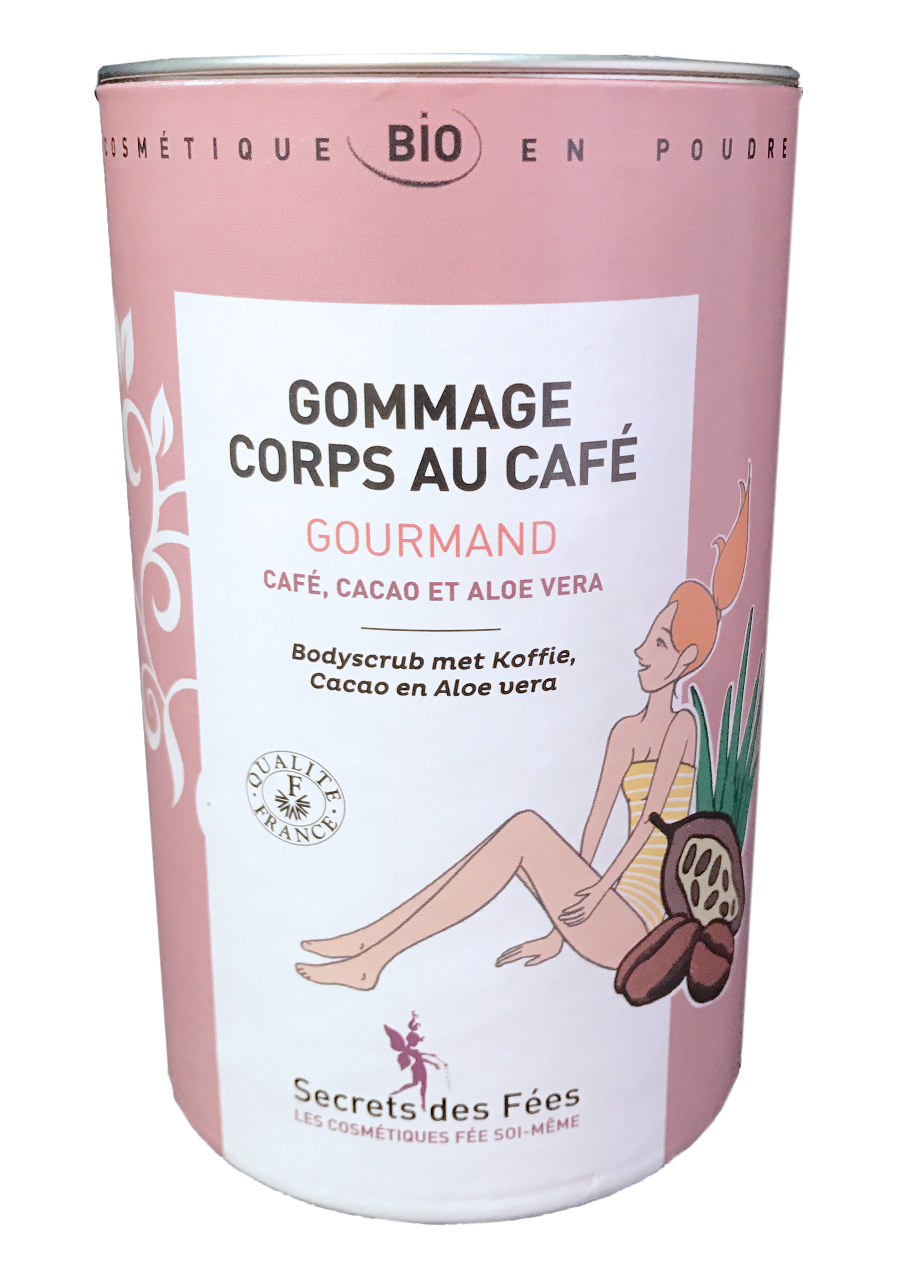 gommage corps cafe