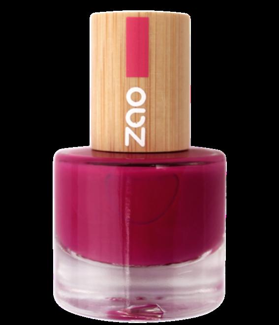 doux good - zao Vernis à ongles rose Framboise - Zao makeUp -101663