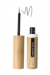 eyeliner-pinceau-rechargeable-bio-vegan-zao-071-brun foncé