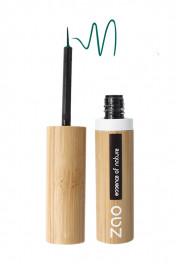eyeliner-pinceau-rechargeable-bio-vegan-zao-073-vert émeraude