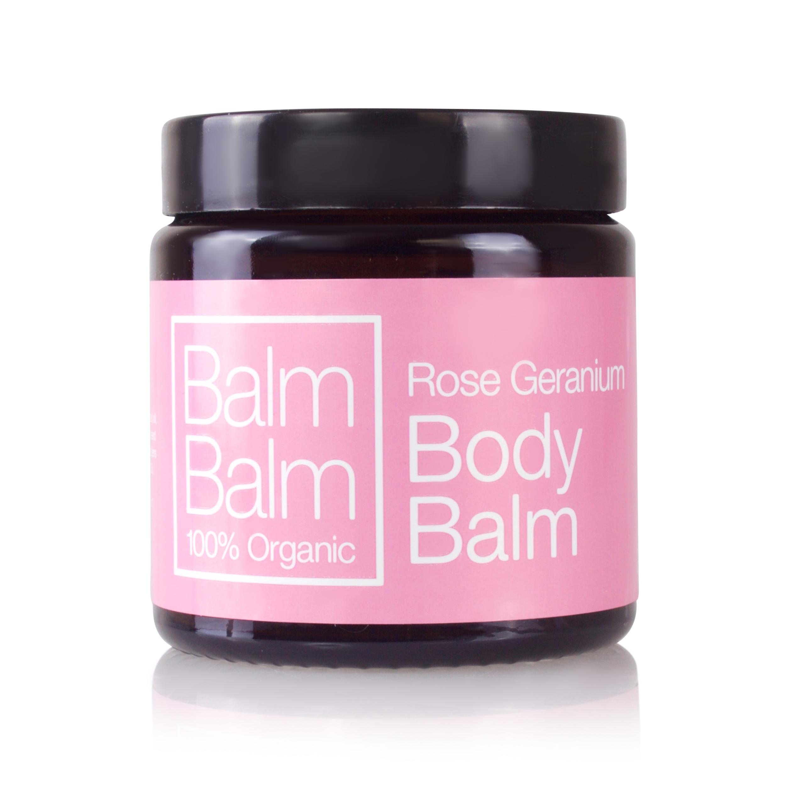 BALM BALM - geranium rosat - body balm - baume corps
