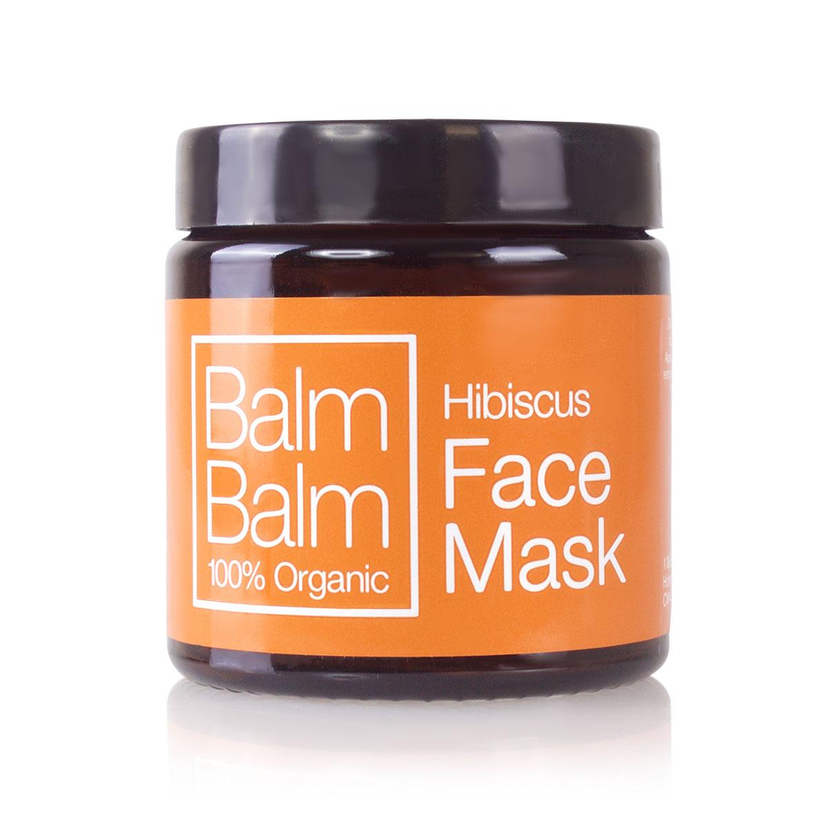 BALM BALM - masque visage purifiant à la poudre d'Hibiscus