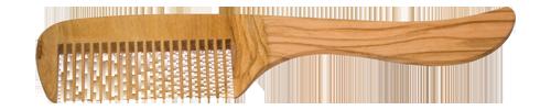 Redecker - peigne à manche en bois d'olivier