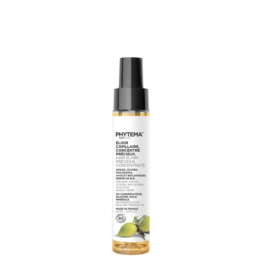 Phytema-Elixir capillaire concentré précieux - avant-shampoing bio