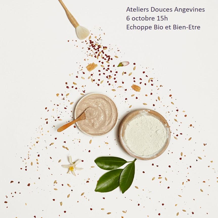 Chateauroux - 6 octobre 15h - Atelier Douces Angevines