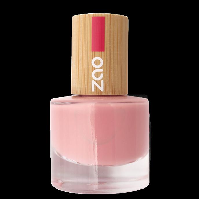 ZAO-vernis à ongles rose poudré 662