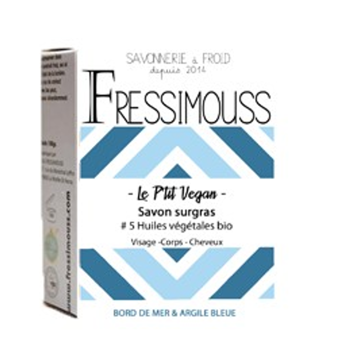 Fressimouss- Le Ptit Vegan - Bord de mer et Argile bleue