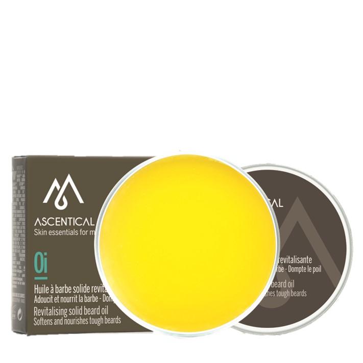 Ascentical - Huile à barbe solide revitalisante
