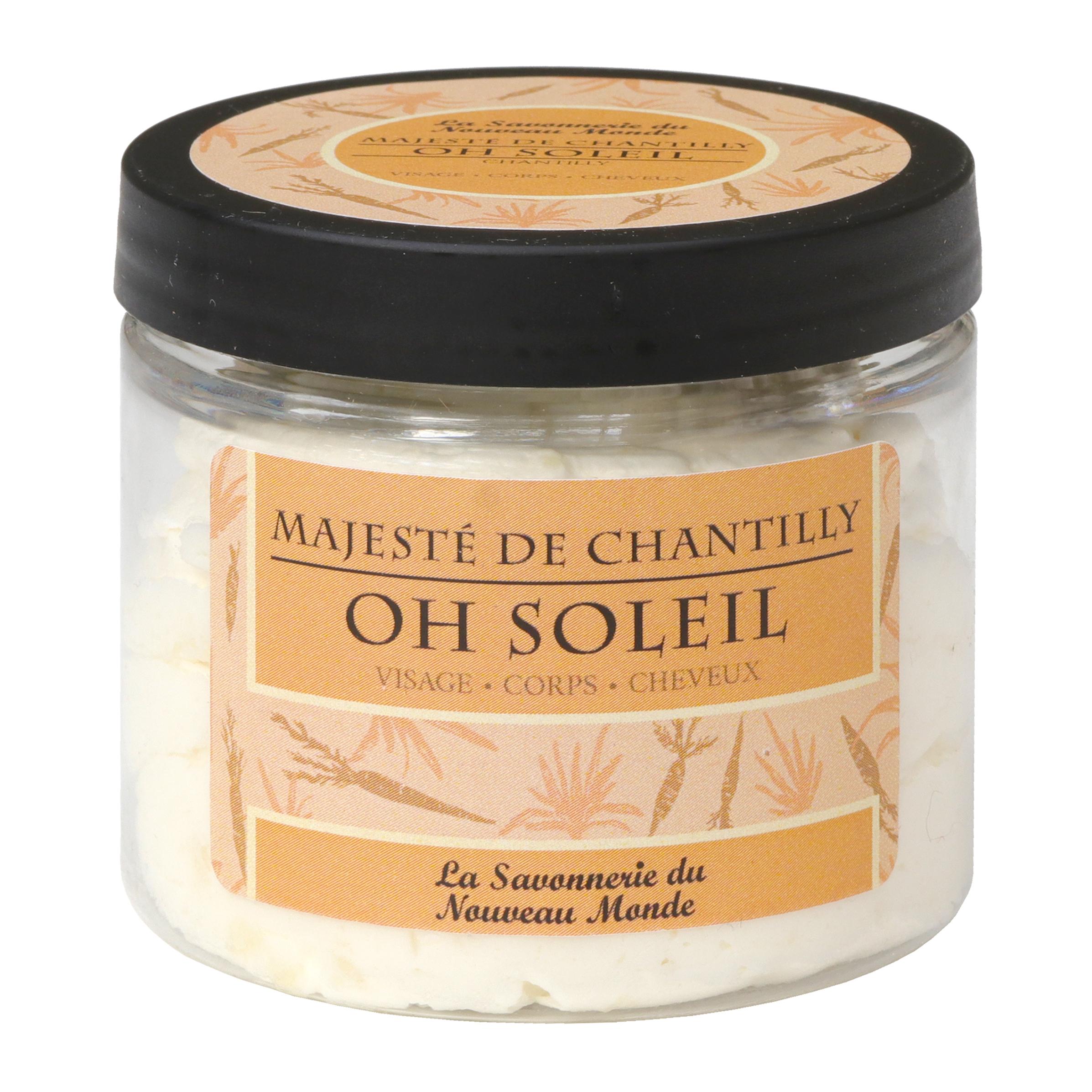 la Savonnerie du Nouveau Monde - Oh Soleil - Majeste de chantilly