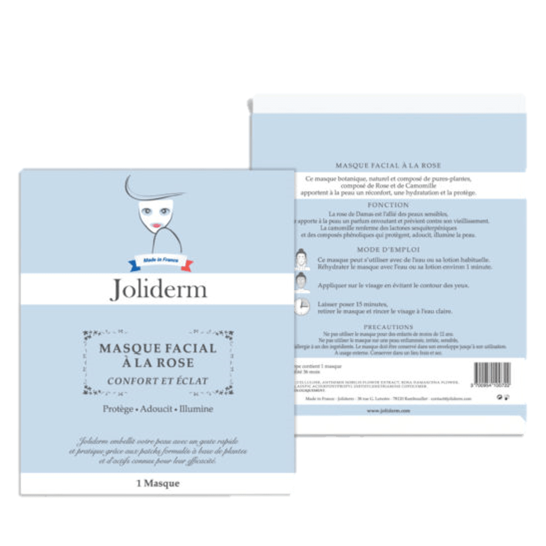 Masque facial à la rose Joliderm