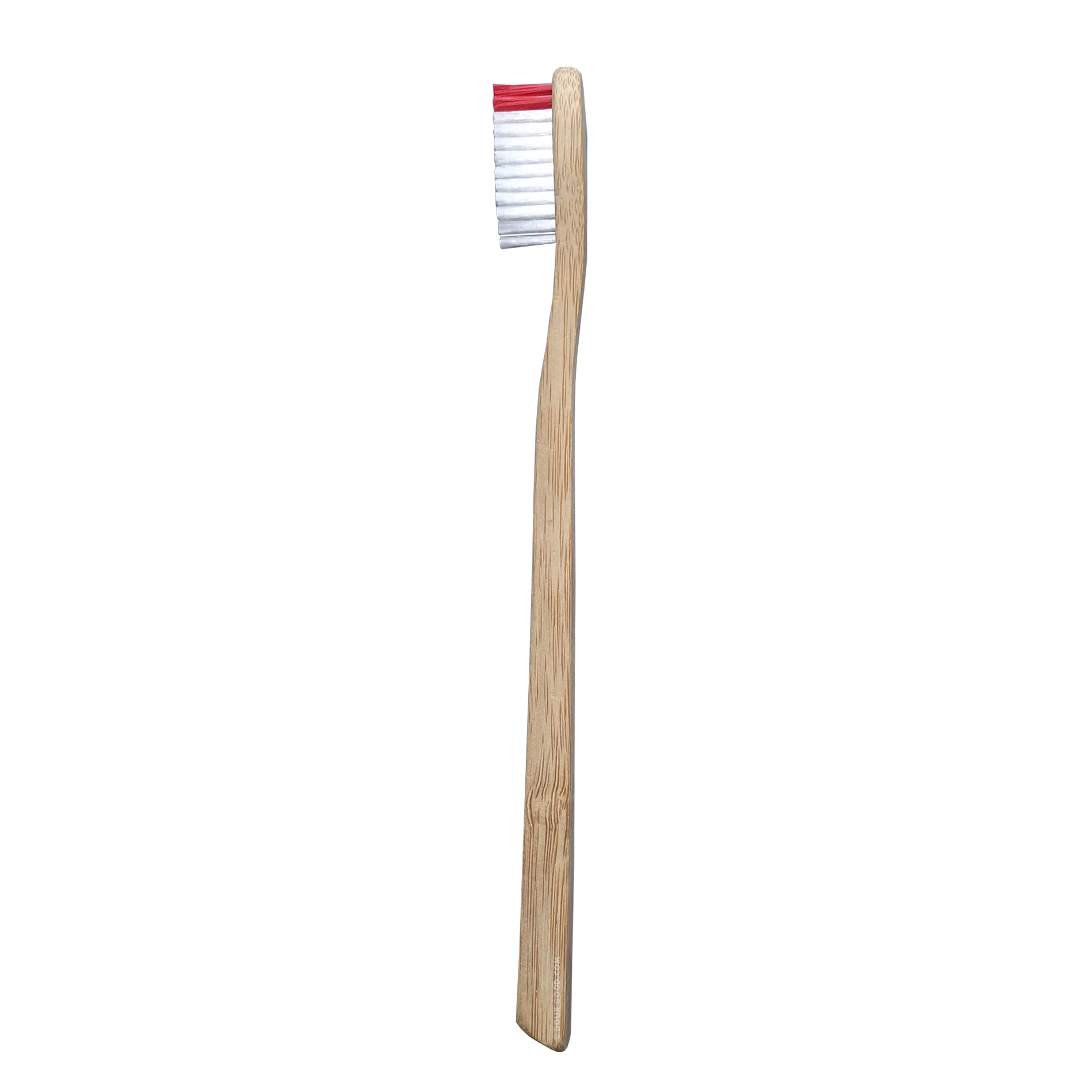 My Boo Company - brosse à dents en bambou - Adulte medium - Rouge