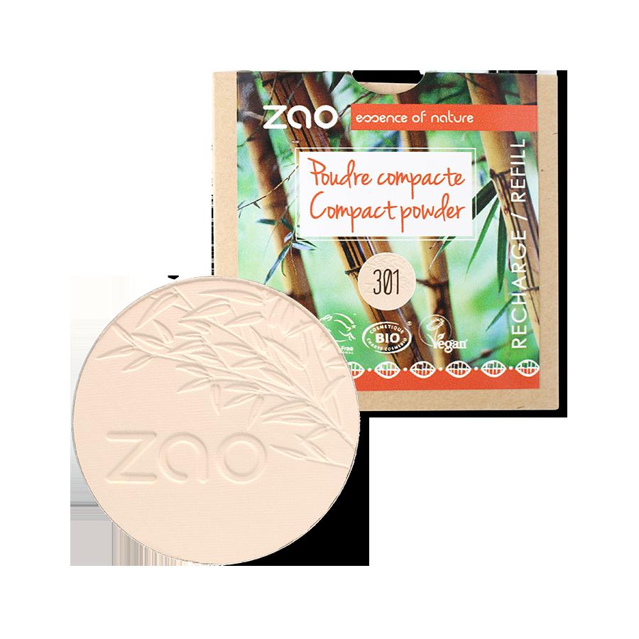 Recharge Poudre compacte 301 - Zao Makeup