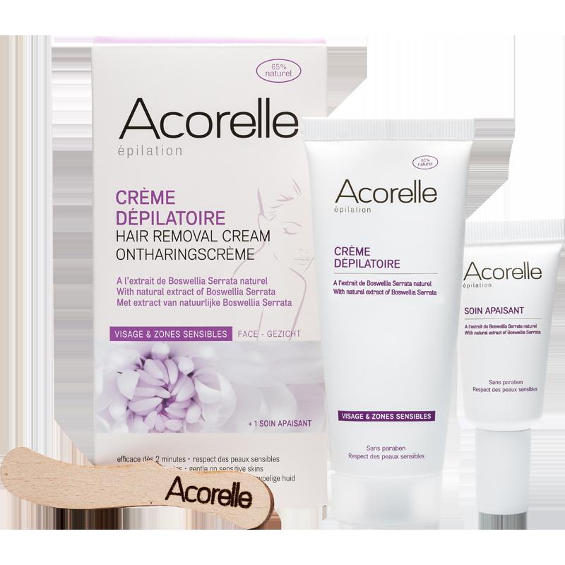 Acorelle - Crème Dépilatoire Visage et Maillot 75ml