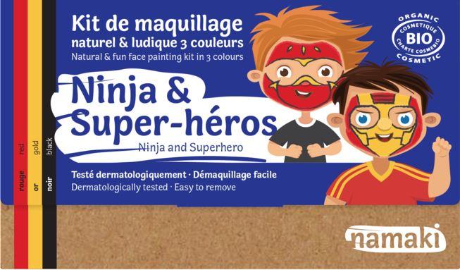 Kit 3 couleurs Ninja _ Super-héros - Namaki