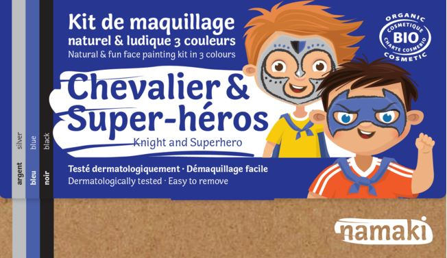 Kit 3 couleurs Chevalier _ Super-héros-Namaki