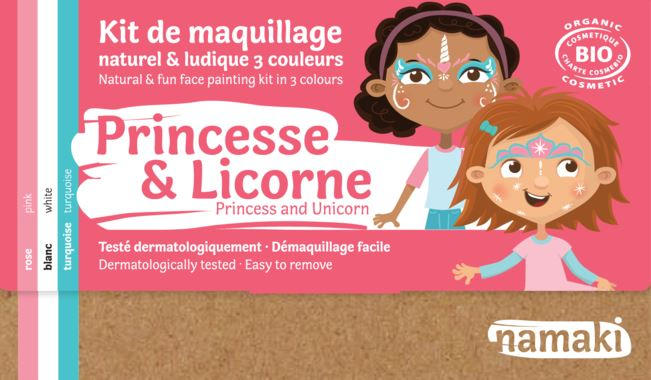Kit 3 couleurs Princesse _ Licorne-namaki