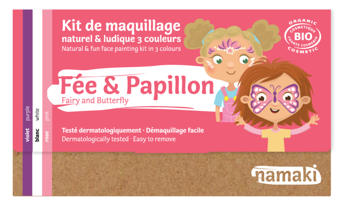 Kit 3 couleurs Fée _ Papillon_namaki
