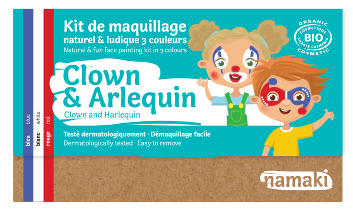 Kit 3 couleurs Clown _ Arlequin_namaki