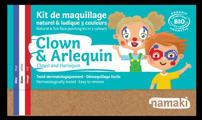 Kit 3 couleurs Clown _ Arlequin_namaki