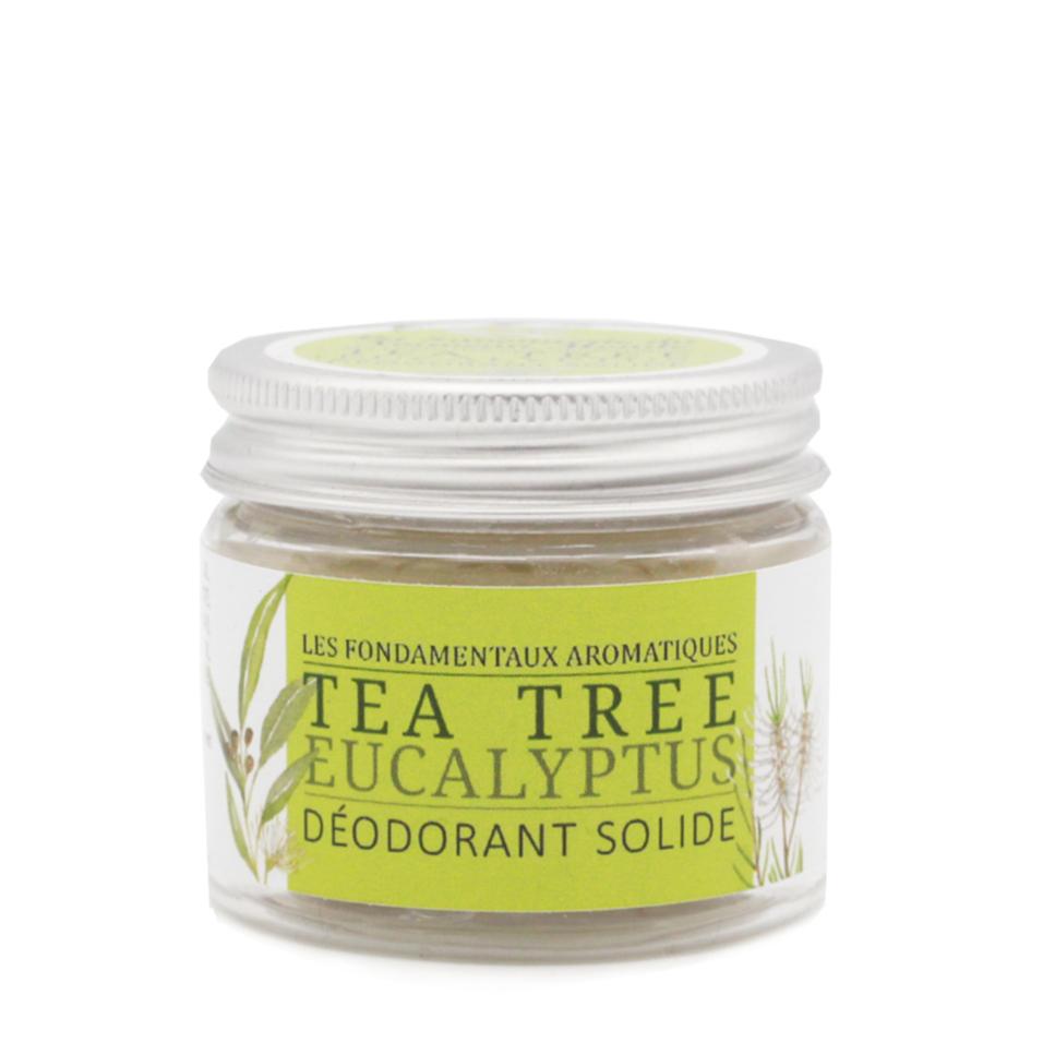 Déodorant solide Tea tree - La savonnerie du Nouveau Monde