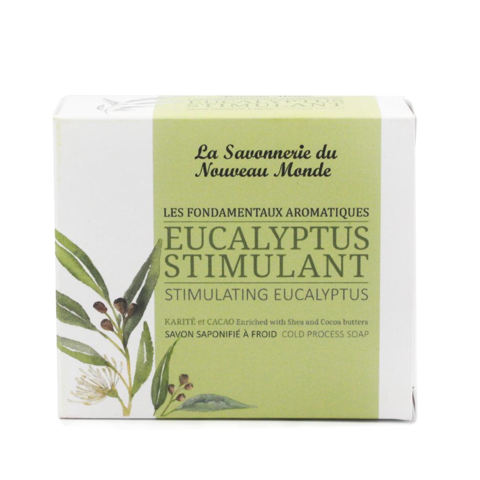 savon Eucalyptus stimulant - La Savonnerie du Nouveau Monde