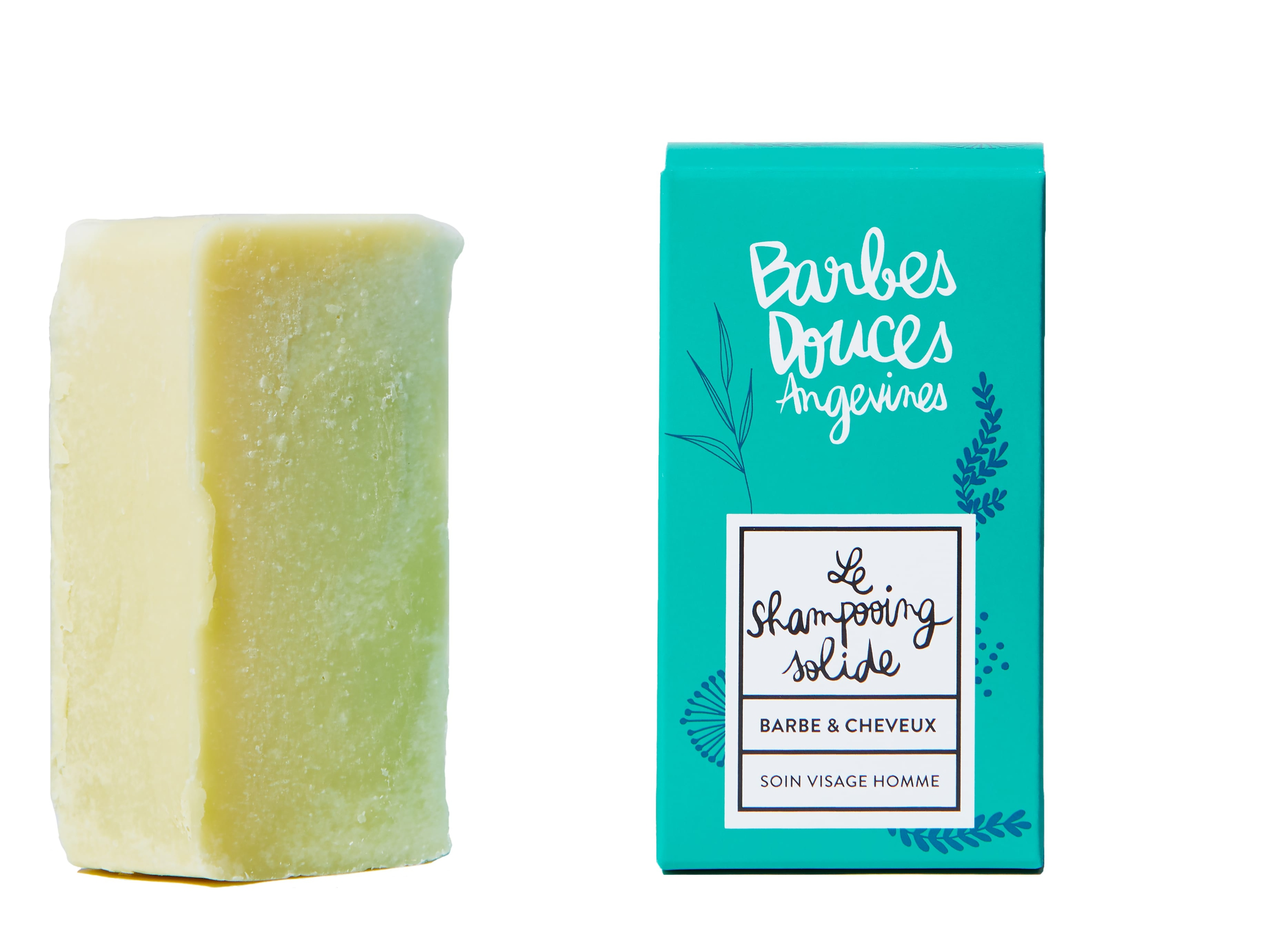 Douces Angevines - Le Shampooing solide bio