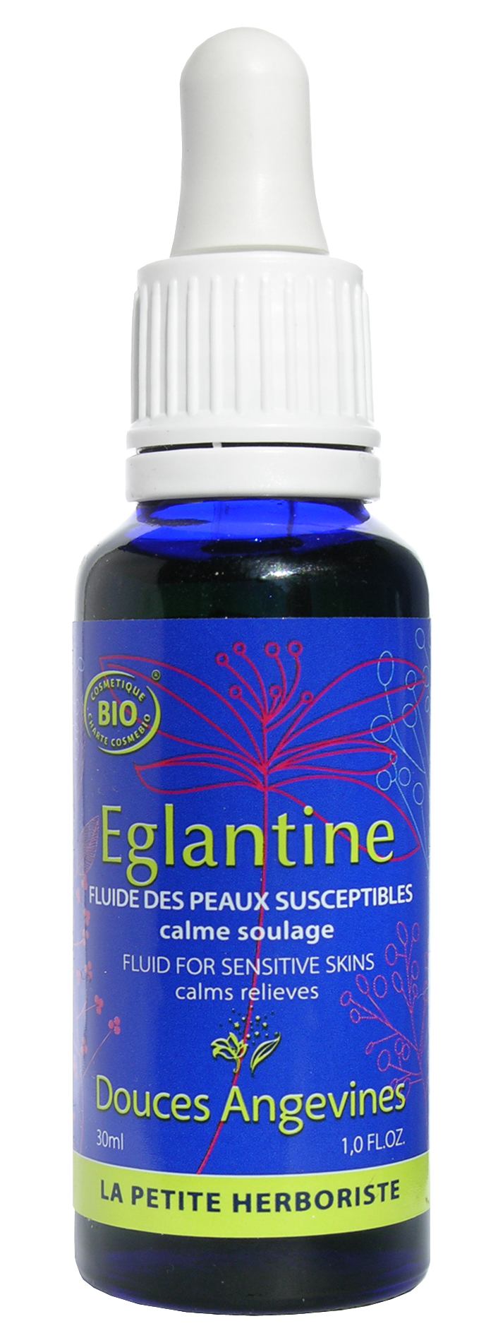 Doux Good - Douces angevines - Eglantine, fluide restaurant la protection des peaux sensibles et dessechees