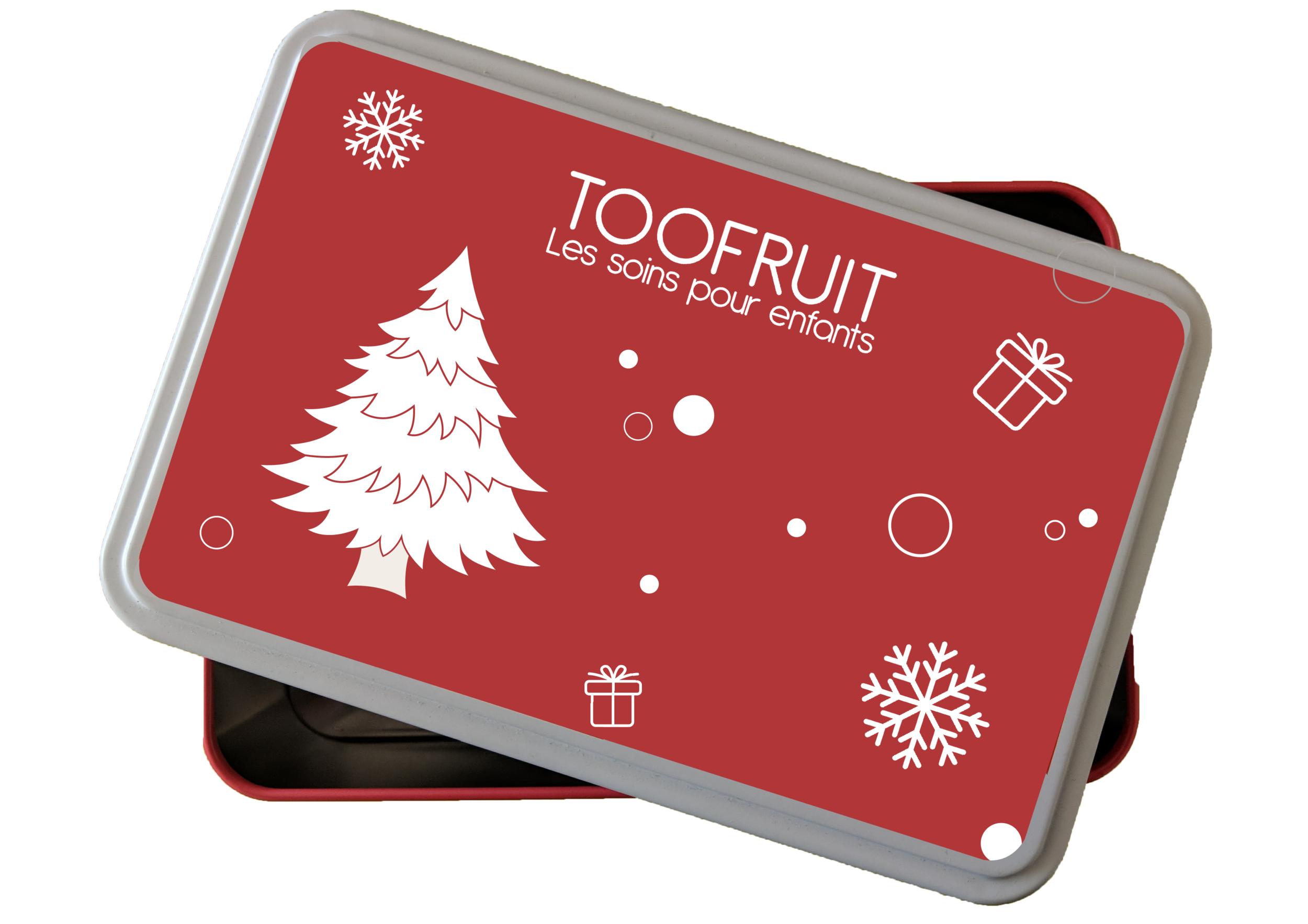 BOITE CADEAU NOÊL toofruit