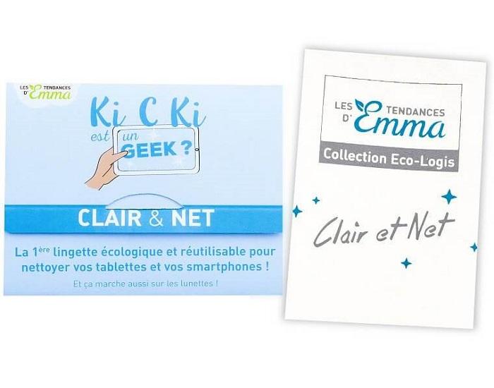 Clair & net des Tendances d'Emma - nettoyage écran