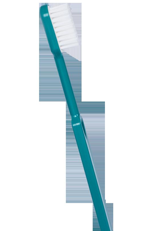 Brosse-dents-caliquo-Bioplastique-bleu-turquoise