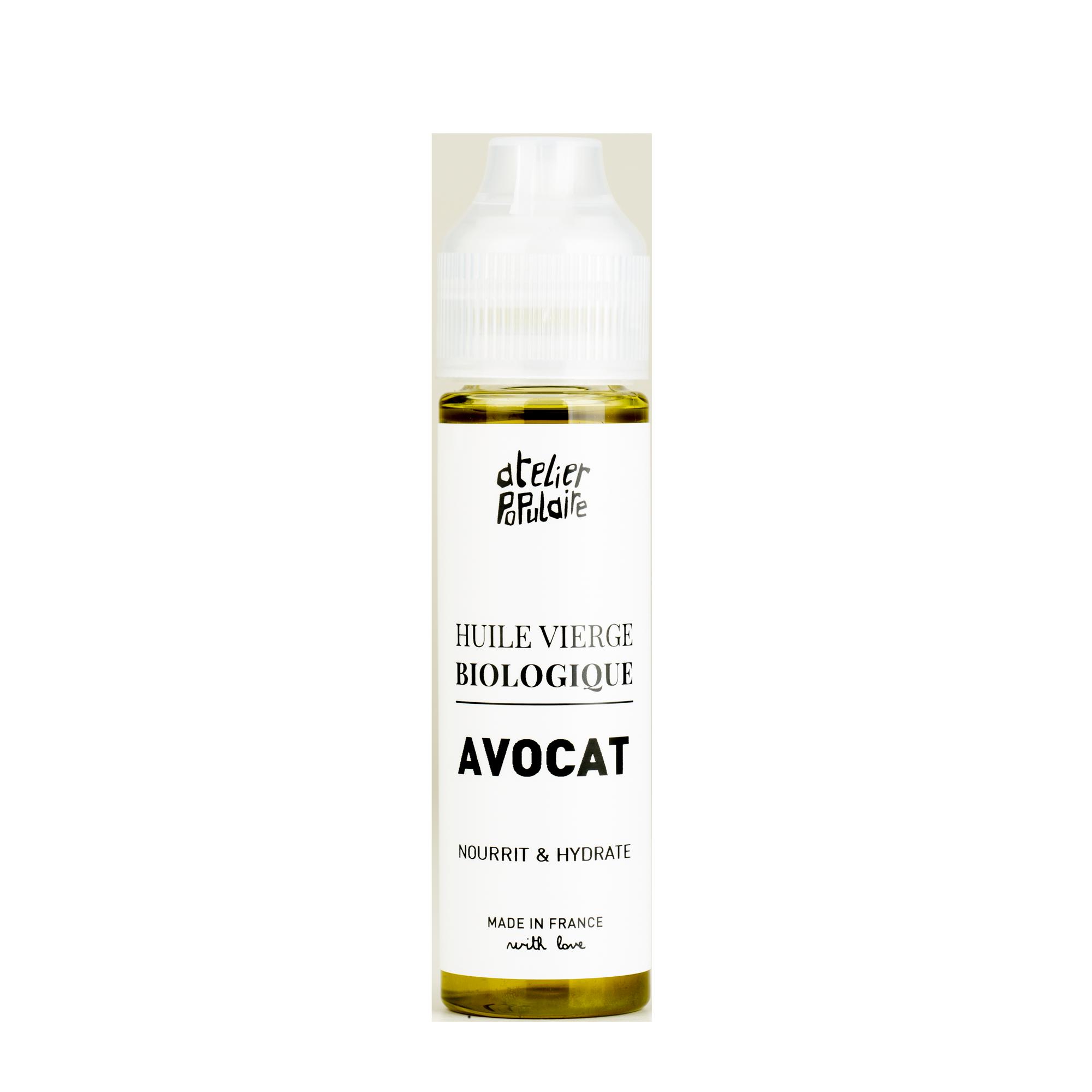huile vierge biologique d'avocat - Atelier Populaire