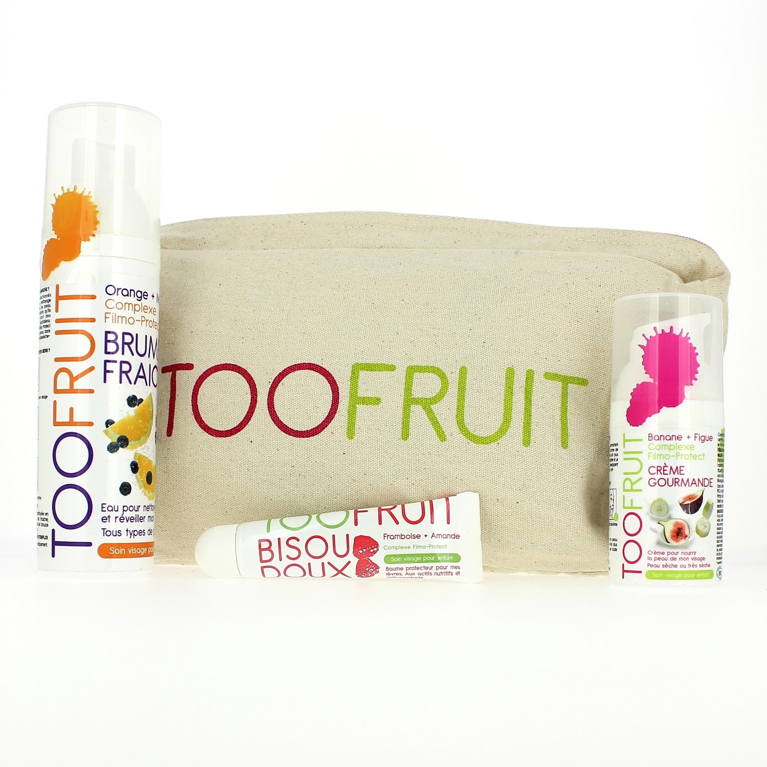 Doux Good - Toofruit - trousse enfants peau seche