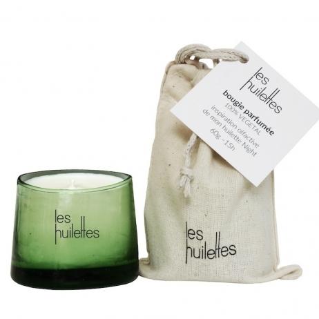 Les huilettes - Ma bougie parfumée naturelle