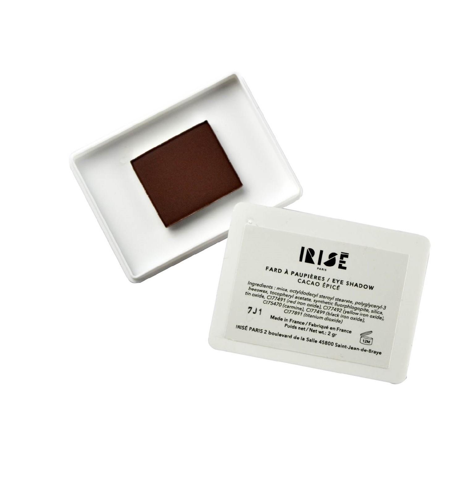 Cacao épicé_Fard à paupières Irisé