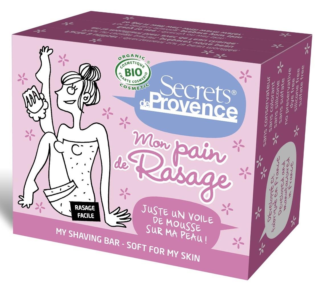 Doux Good - Secrets de Provence - Pain de rasage femme